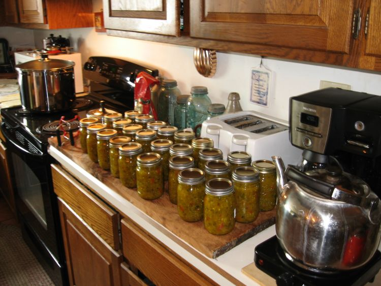 Today's Canning Project
