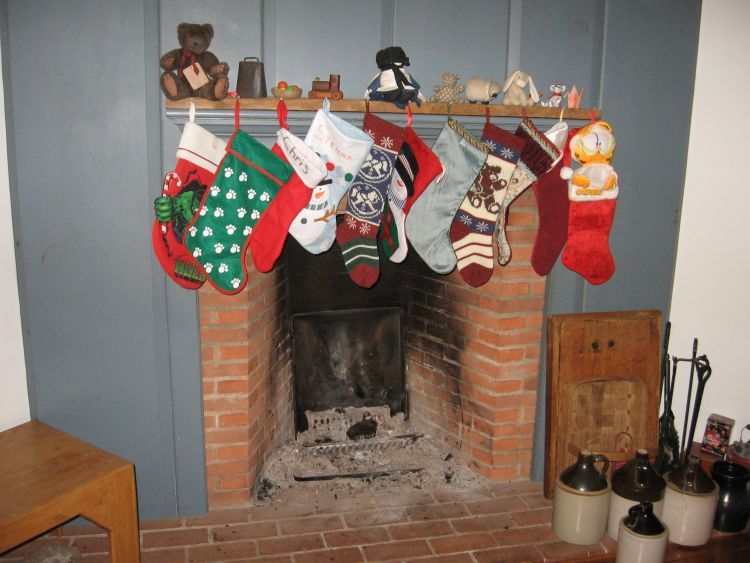 And the stockings were hung...
