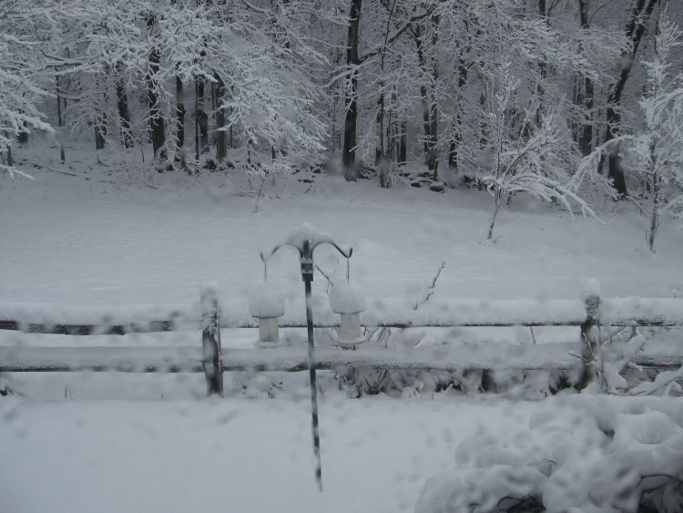 April 3rd snowfall