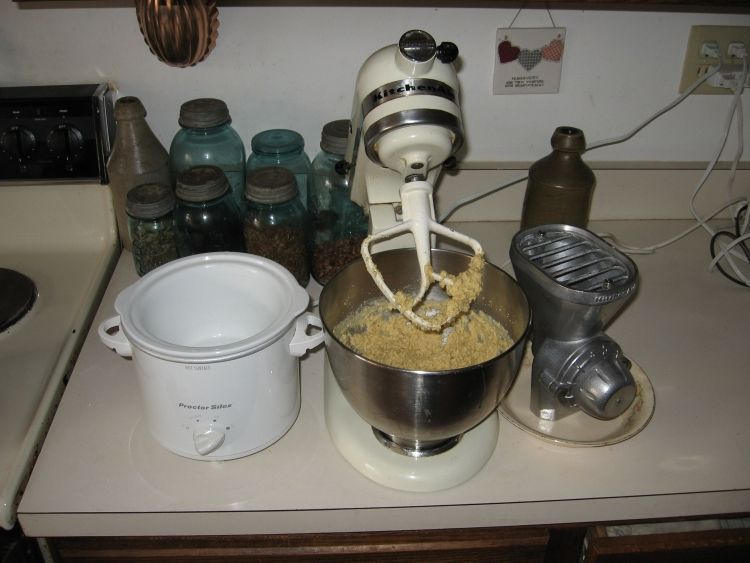 Cornbread making 3