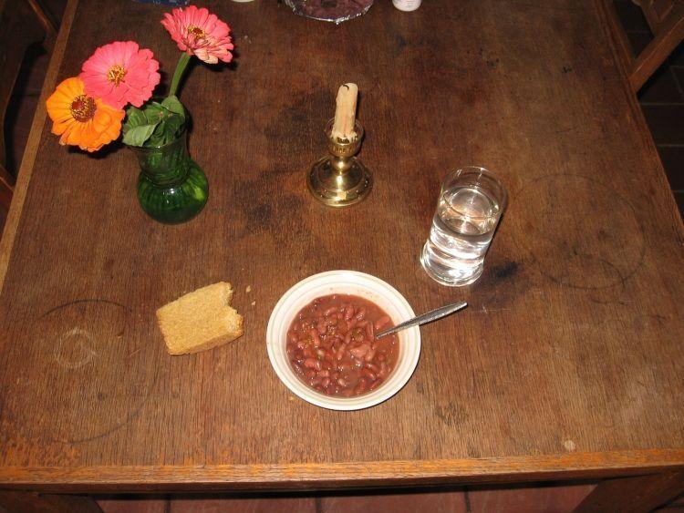 Cornbread making 7
