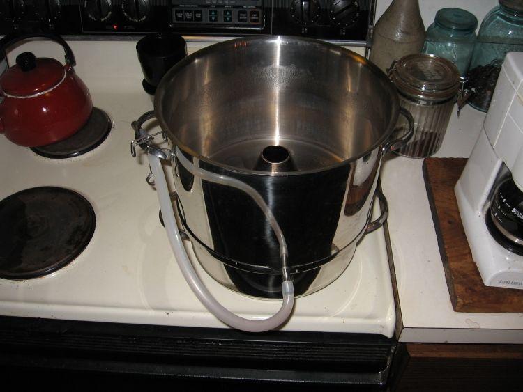Steaming Apple juice 2