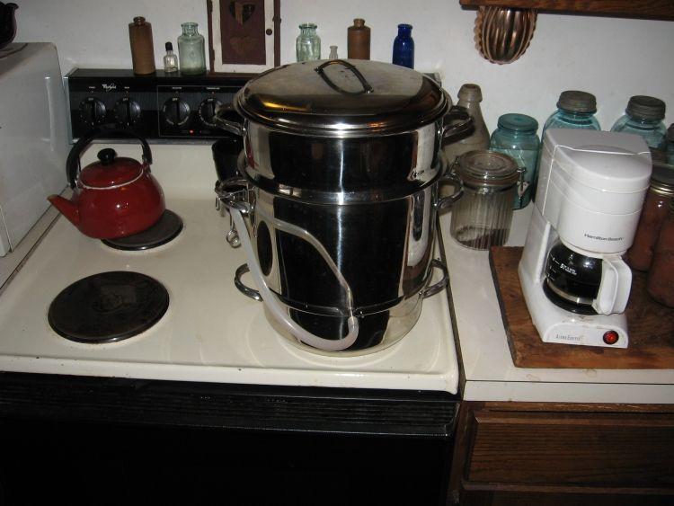 Steaming Apple juice 5