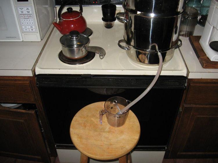 Steaming Apple juice 6