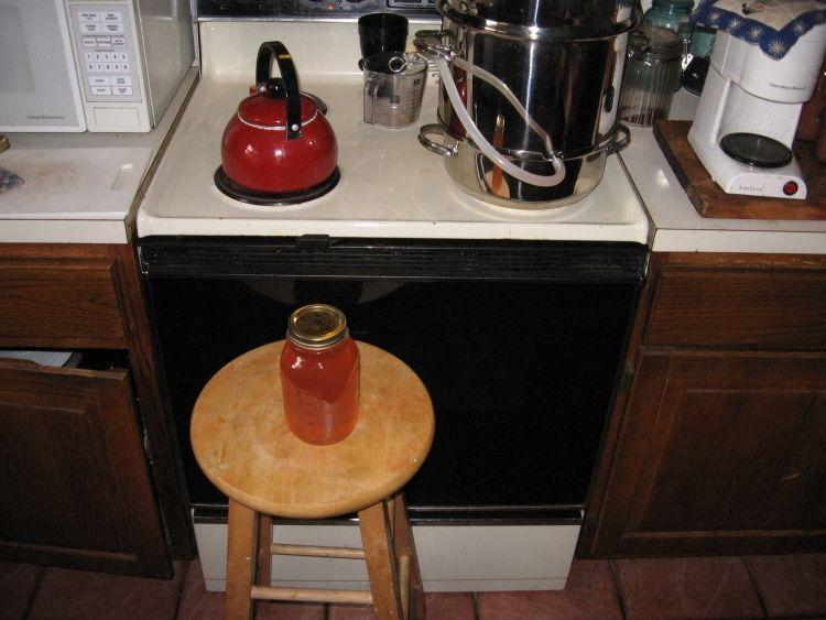Steaming Apple juice 11