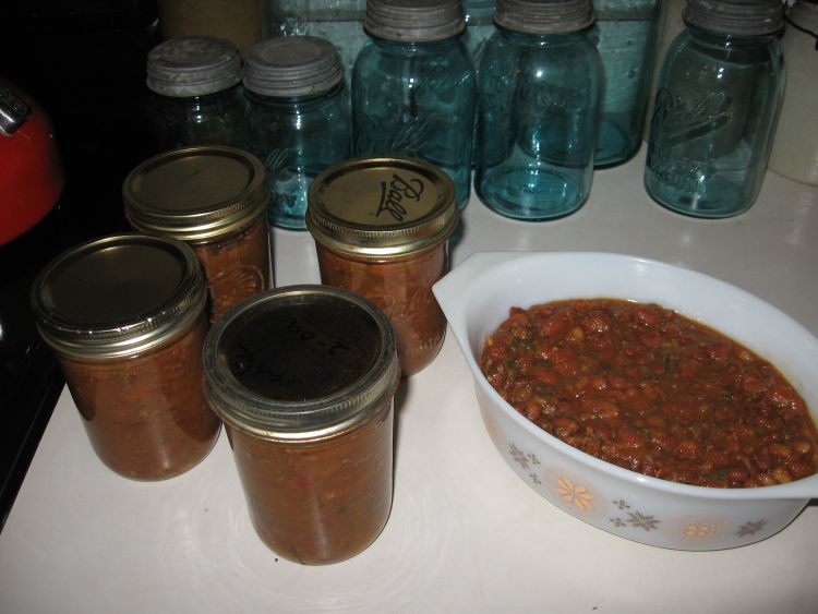 Plenty of Chili for Supper