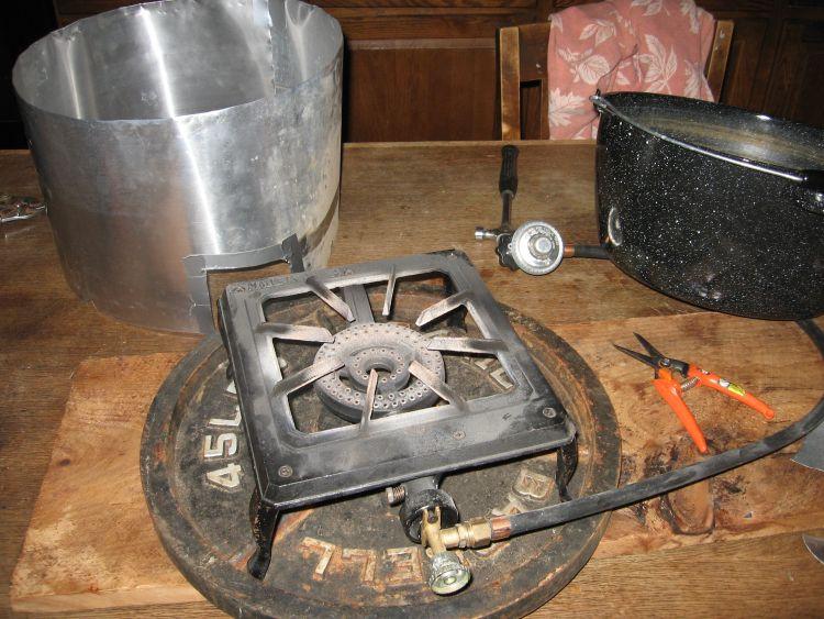 Propane Sap Heater