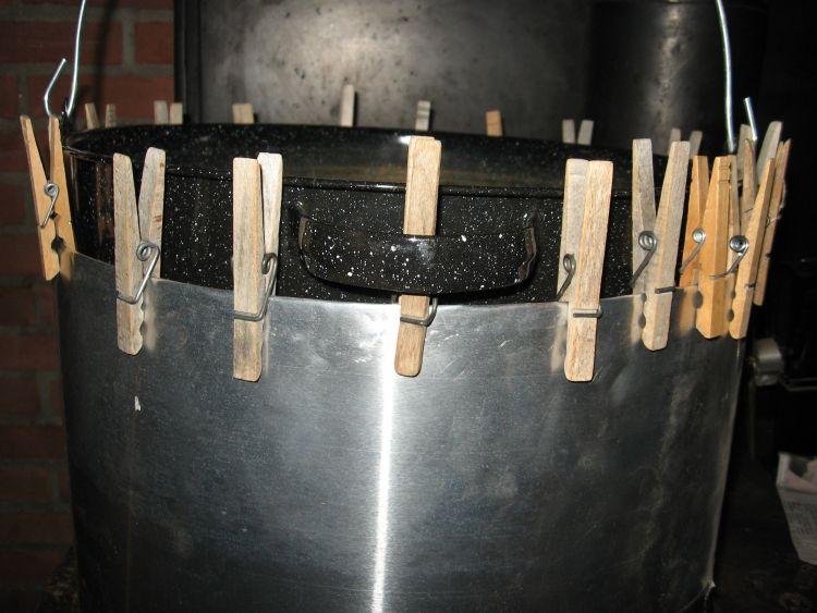 Making the heat shield round!