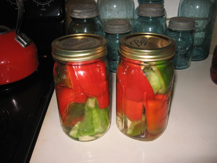 Pickled peppers!