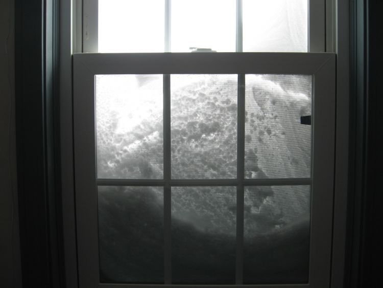 Window on Blizzard 2013