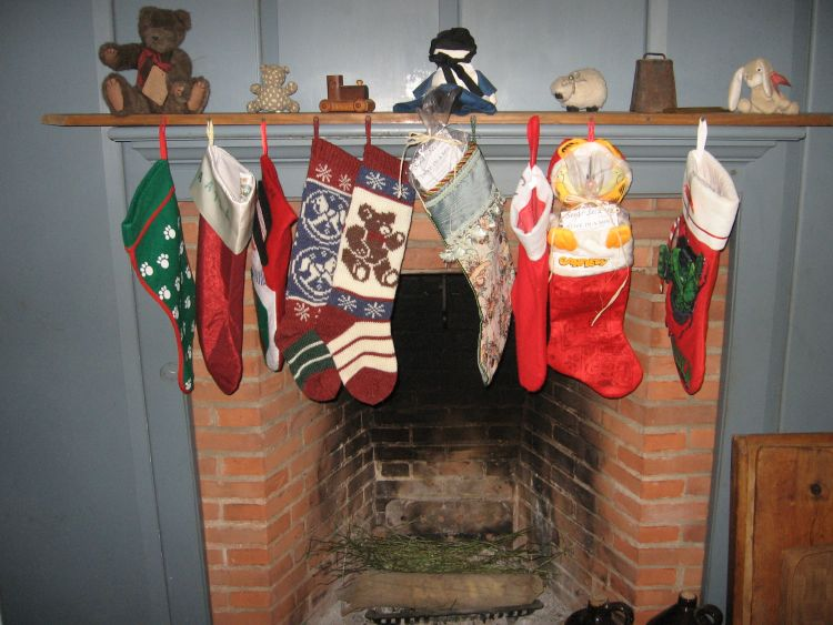 And the stockings were... 2013