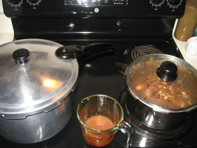 Pressure canning & slow cooking