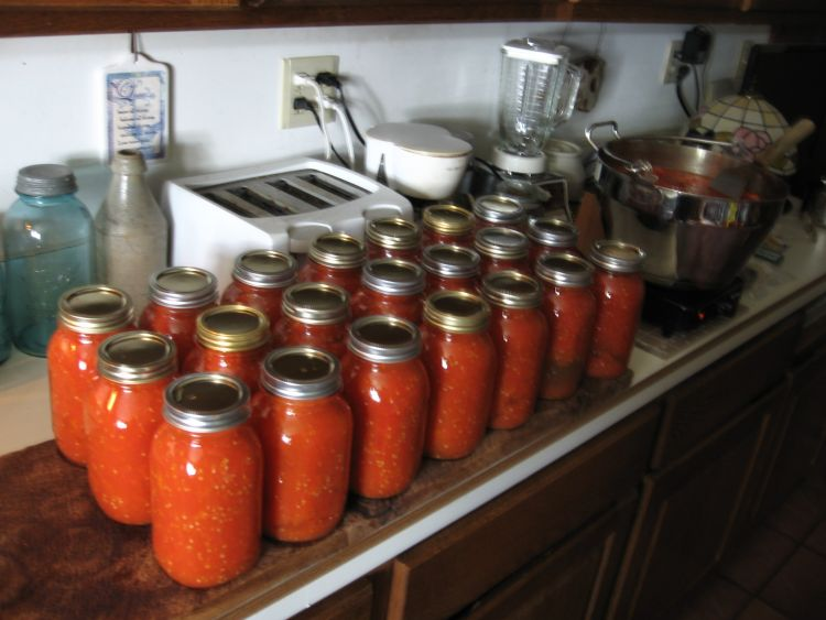 Canning Beefsteak Tomatoes 2014