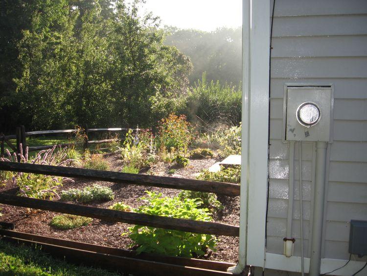 Front Herb & Flower Garden