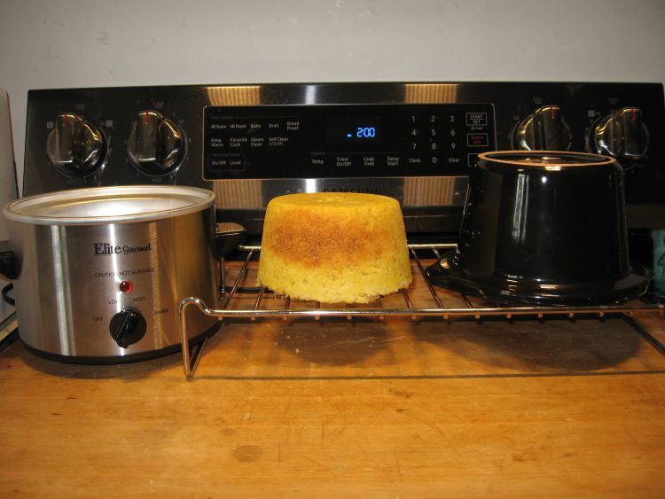 Cornbread in Elite crock pot