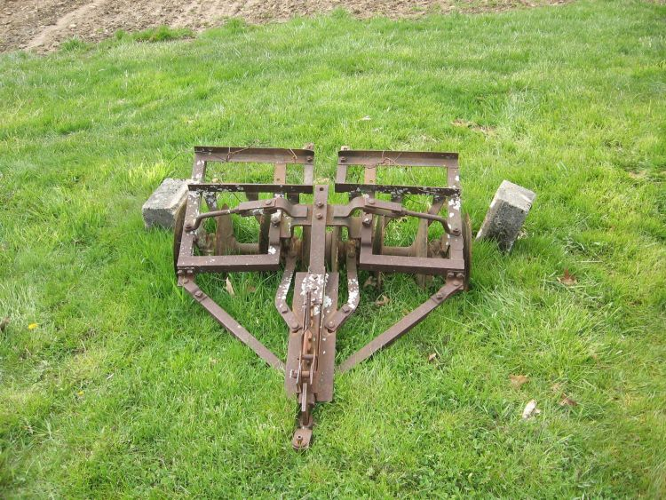 Our old Disk Harrow