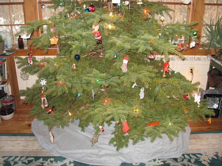 Christmas tree lower half 2020