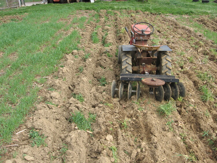 Disk Harrowing